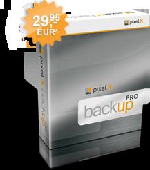 PixelX Backup Pro gratis testen, download bei www.pixelx.de